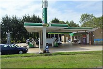 SP4310 : ESSO Filling Station by N Chadwick