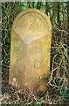 SP6817 : Old Milepost by A Rosevear & J Higgins