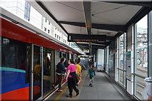 TQ3380 : Tower Gateway DLR Station by N Chadwick