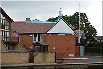 TL4559 : Caius College Boathouse by N Chadwick