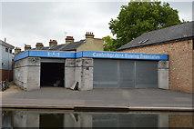 TL4559 : Cambridge Rowing Association Boathouse by N Chadwick