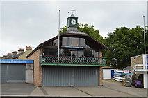 TL4559 : Cambridge '99 Rowing Club Boathouse by N Chadwick