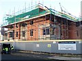 J3731 : New apartments under construction on the A site of the former SERC by Eric Jones