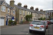 TL4658 : Terraced houses by N Chadwick