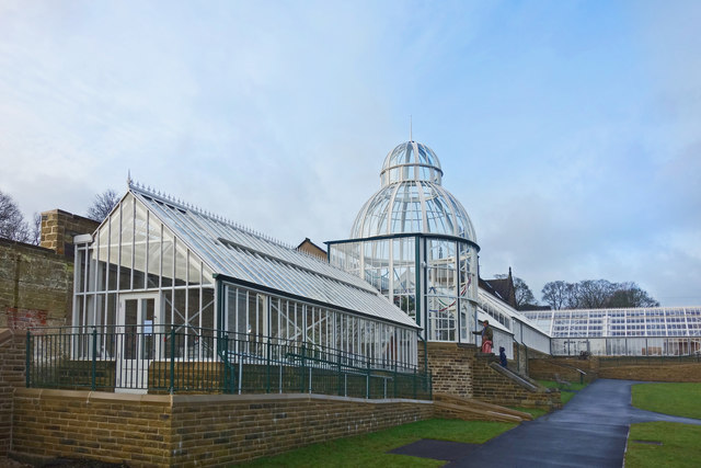Glasshouses at Cliffe Castle
