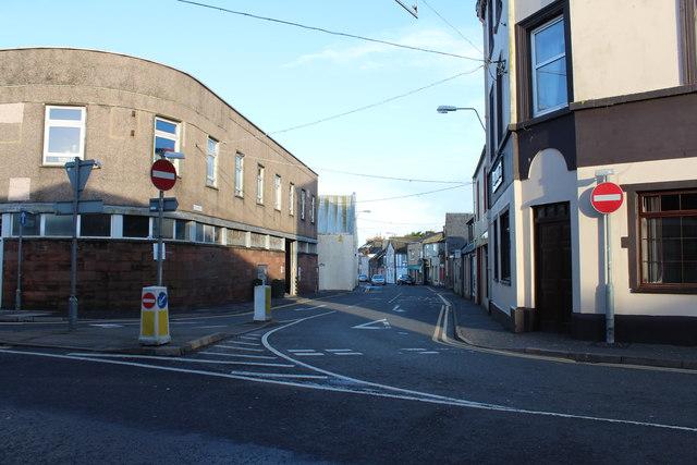 St John Street, Stranraer