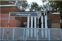 TQ5548 : Hildenborough Station by N Chadwick