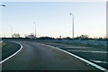 SU9379 : M4 westbound junction 7 exit by Robin Webster