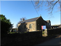 SS9883 : St. Peter's church in Brynna by Gareth James