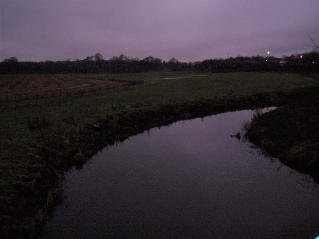 Early winter morning on River Urie