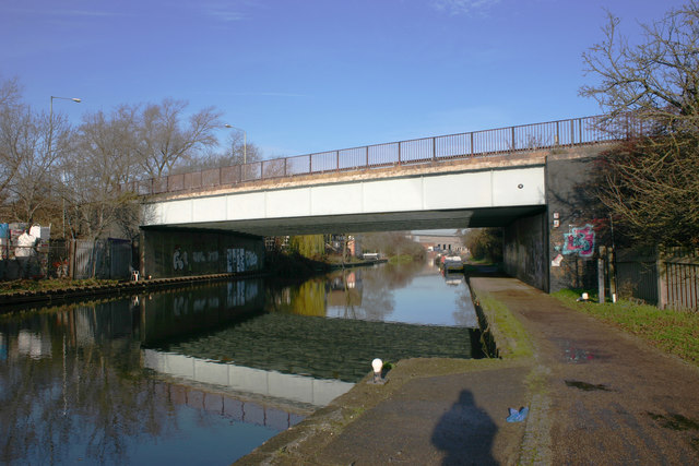 Lea Valley Road Bridge, River Lee Navigation