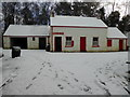 H4379 : Mountjoy Post Office, Ulster American Folk Park (front) by Kenneth  Allen
