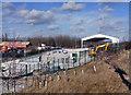 SE4224 : New recycling plant at Cutsyke by derek dye