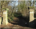 TG2808 : Entrance to Thorpe End by Evelyn Simak
