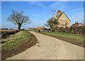 TL5862 : Farm cottages on Heath Road by John Sutton