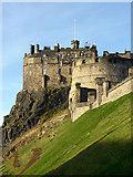 NT2573 : Edinburgh Castle by Andy Stephenson