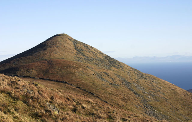 North Barrule summit pyramid: IOM.