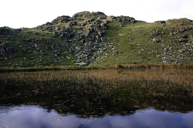 Stickle Pike and tarn
