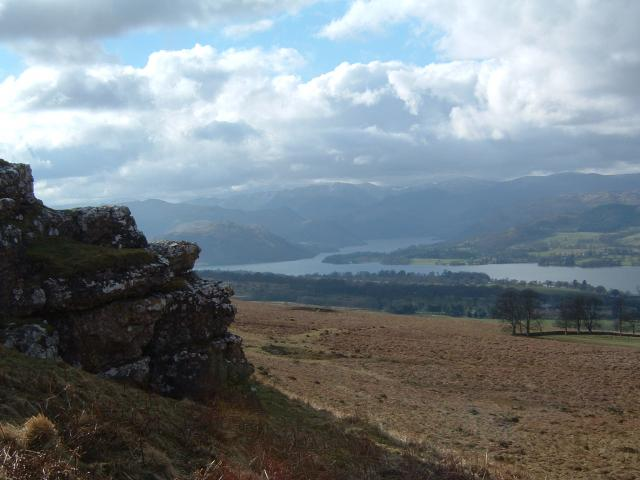 Ullswater from Heugh Scar Hill
