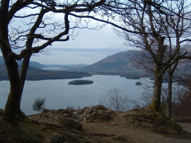 Derwent Water from Surprise View.