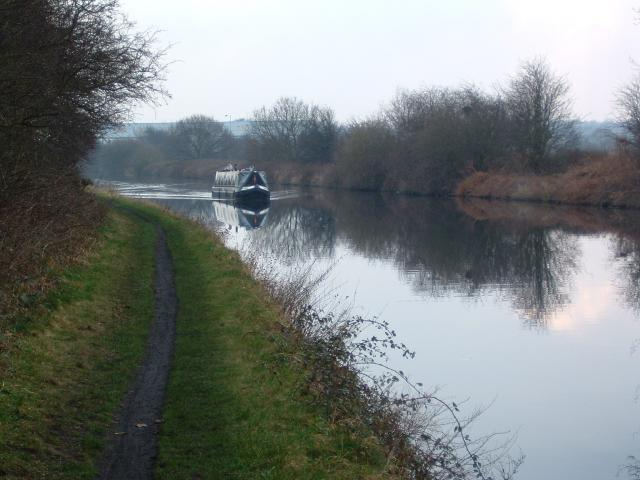 Between Stanley Ferry and Birkwood Lock on the Aire and Calder Navigation.