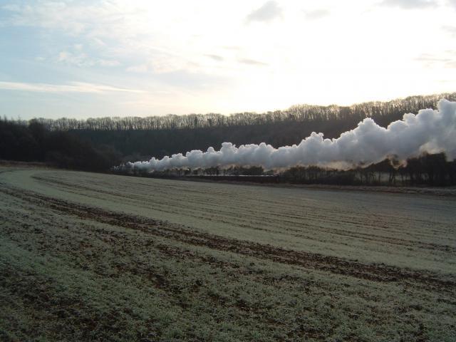 North York Moors Railway near Newbridge, Pickering.