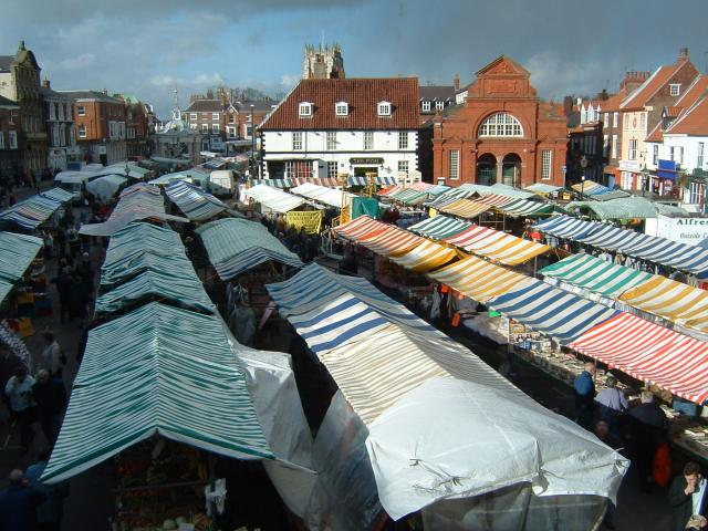 Beverley on Market day.