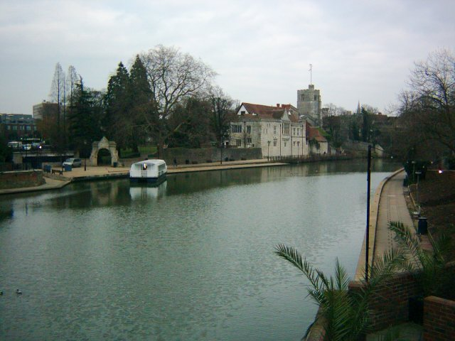 The River Medway at Maidstone