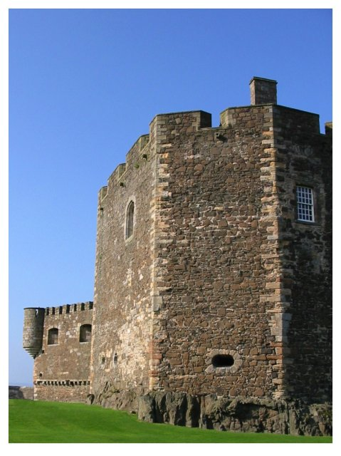 Blackness Castle South East View