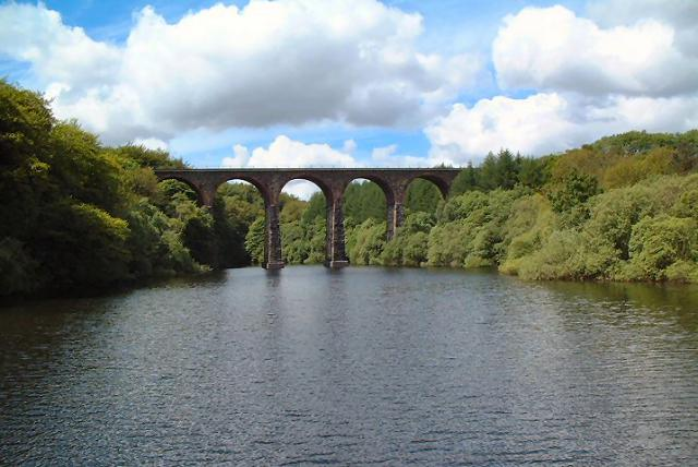 Bradshaw Brook Viaduct over Wayoh Reservoir