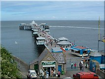 SH7883 : Llandudno Pier by Paul Allison