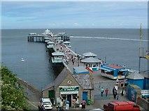 SH7883 : Llandudno Pier by Paul Allison