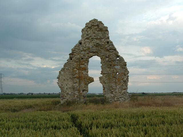 Ruined church (Midley, Romney Marsh, Kent)