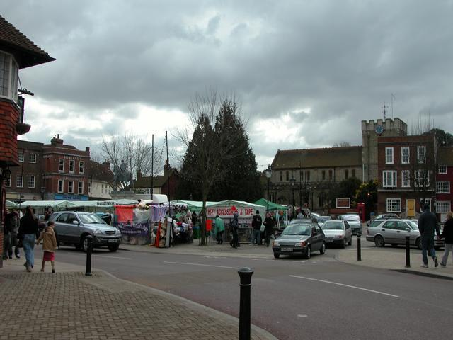 Petersfield Market Square