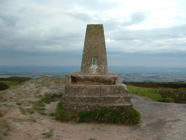 Trig Point on Brown Clee Hill