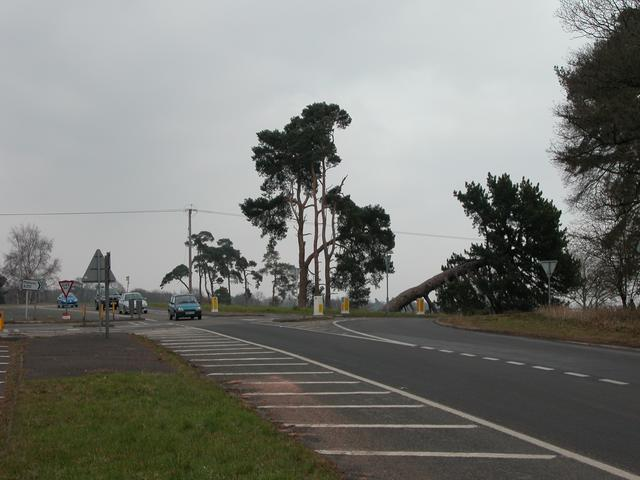 Junction of A272 & B2070