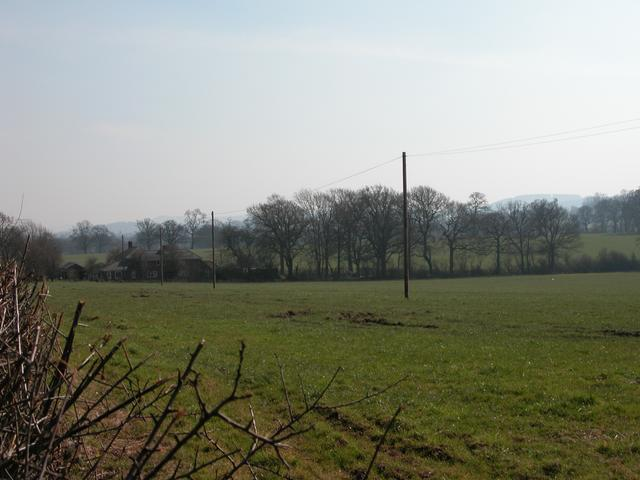 Farmland south of the A272 at Stroud