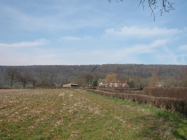 Farmland North of the A272 at Stroud