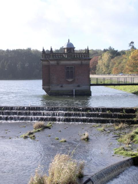 Pump house at the top of Swithland Reservoir