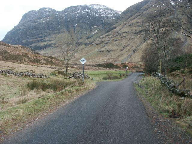 Looking into 'The Pass of Glencoe'
