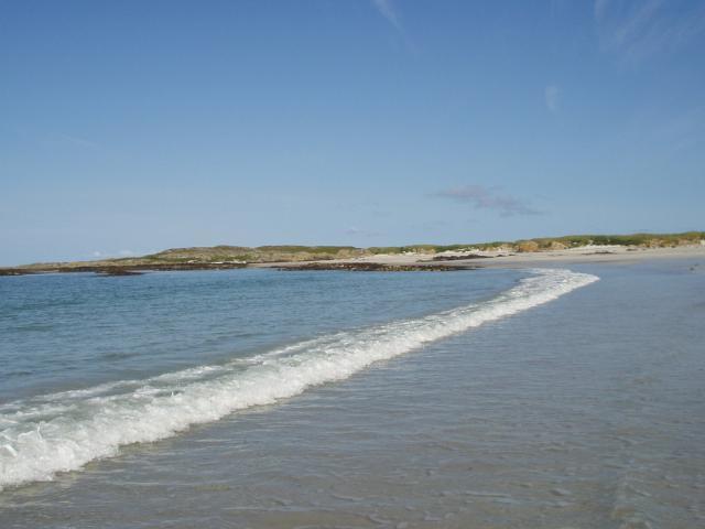 Scotland's answer to a tropical beach