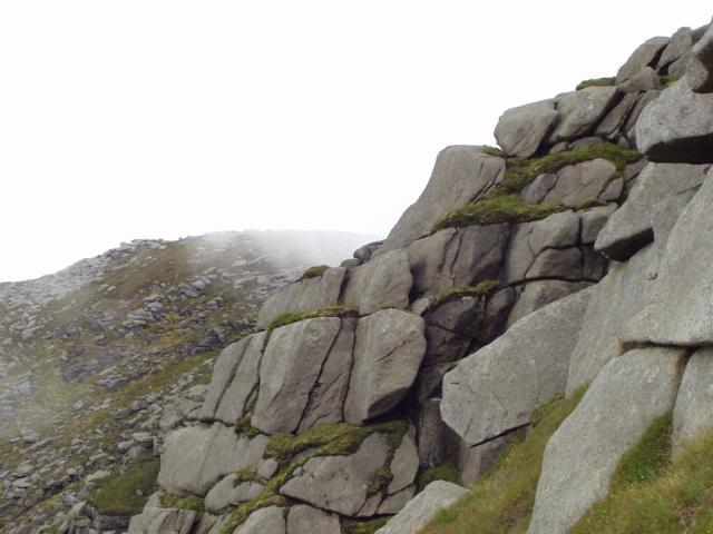 North Goatfell in the Mist