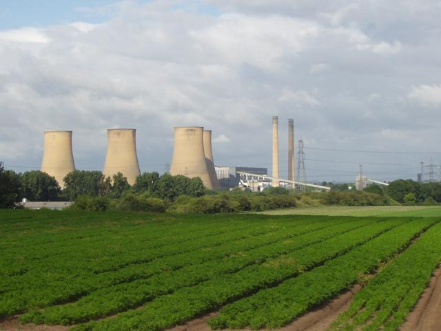 View of Marnham Power Station