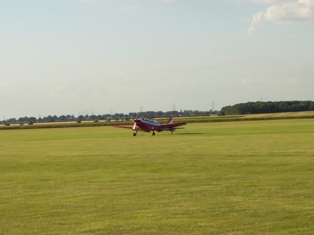 Pilot on the Airfield