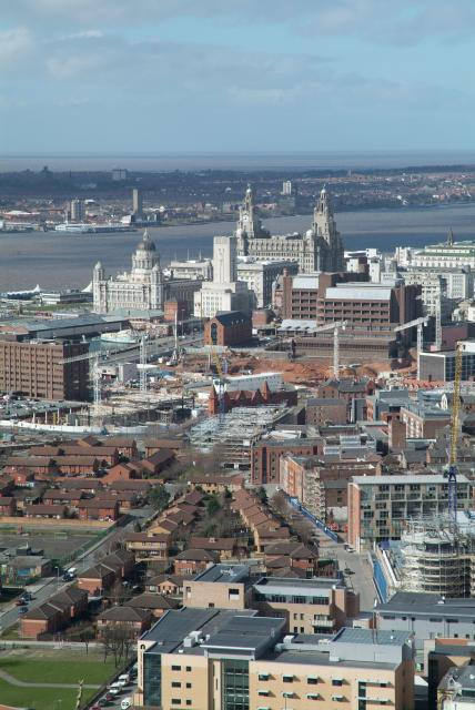 Liverpool from high up
