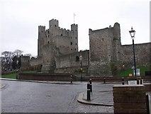 TQ7468 : Rochester Castle by Alan Simkins