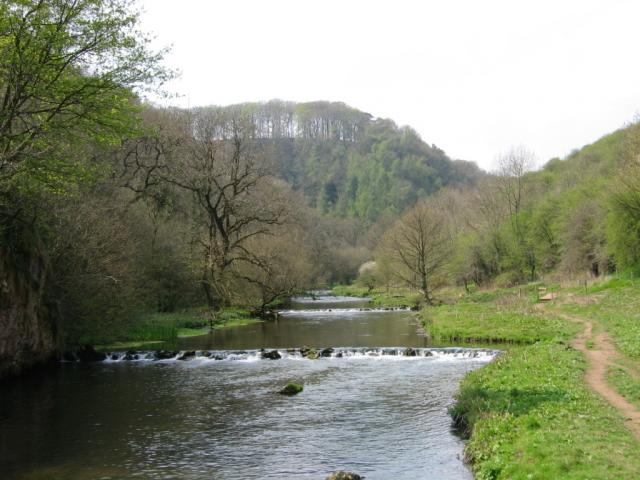 Miller's Dale along the Monsal Trail