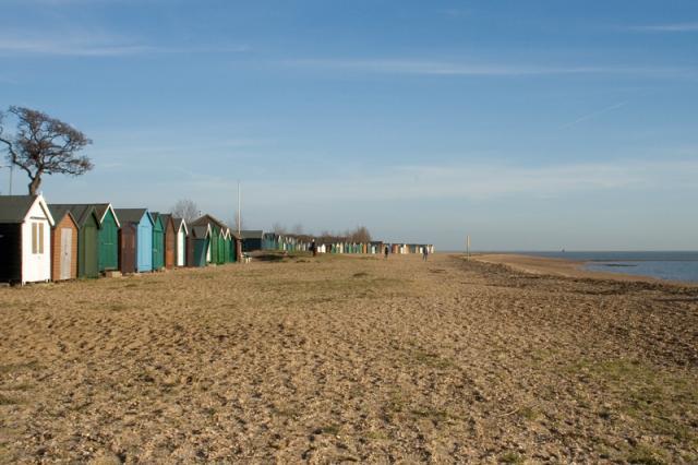 Beach Huts in West Mersea
