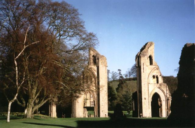 Remains of Glastonbury Abbey: Glastonbury