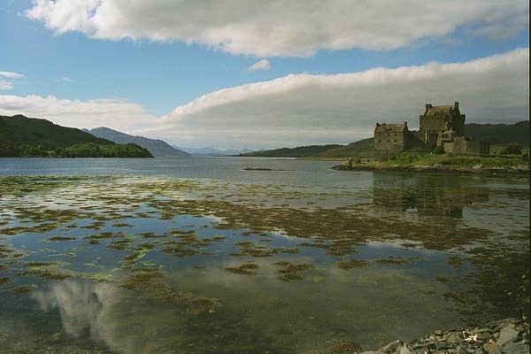Eilean Donan Castle, West Coast of Scotland